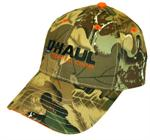 Gorra con diseño de camuflaje UHaul Tech Center