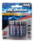 Baterías alcalinas AA-AAA