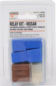 U Haul Moving supplies Nissan Relay Kit