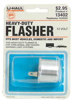 U Haul Moving Supplies 12v Heavy Duty Flasher