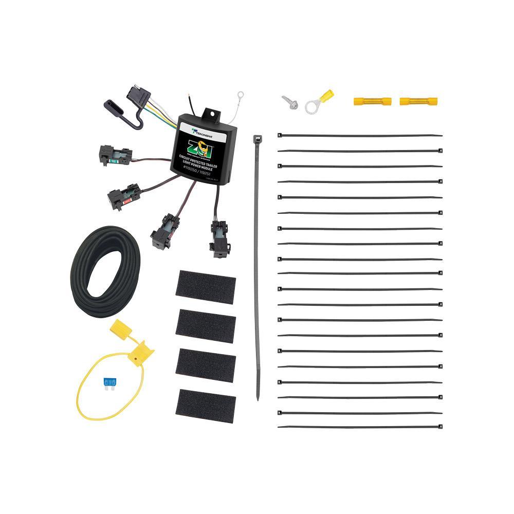 u haul moving supplies plug in simple acirc reg wiring kit to  zciacirc132cent zero contact interface universal modulite