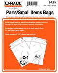 Parts / Small Items Bags