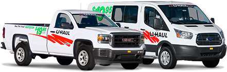 $19.95 Pickup truck and cargo van rentals