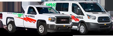 Alquileres de pickup y van de carga por $19.95