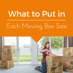 What to Put in Each Moving Box Size