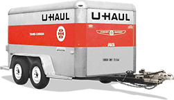 U Haul 5x10 Enclosed Cargo Trailer Rental