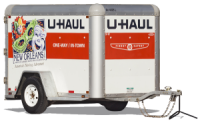 U Haul 5x8 Cargo Trailer Rental