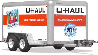 U Haul 6x12 Cargo Trailer Rental