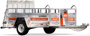U-Haul: 5x9 Utility Trailer Rental w/Ramp